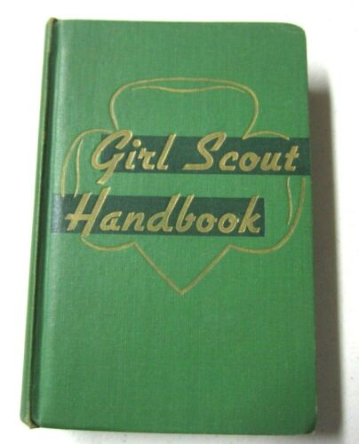 Vintage 1948 Girl Scout Handbook Intermediate Program Second Impression