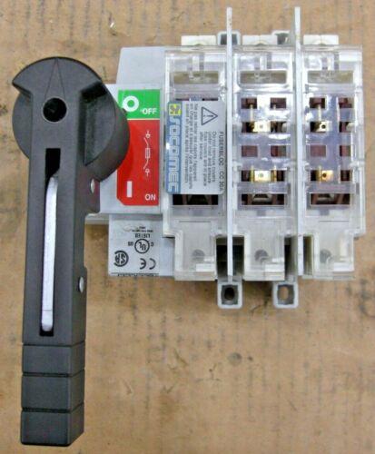 Socomec Disconnect Switch 3-pole 30 Amp 37123003