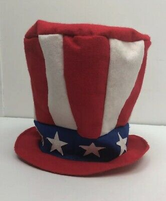 Homemade Halloween Costume For Men (Homemade Halloween Costume July 4th Stars Stripes Top-hat Goofy Photo Uncle)