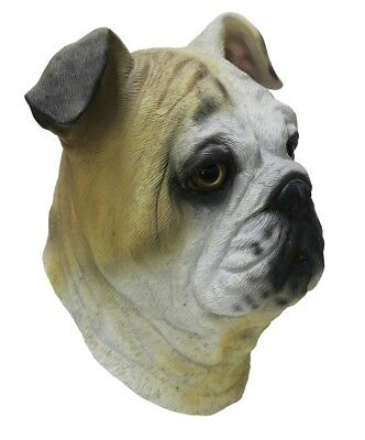 Latex Animal Realistic Border Collie Dog Fancy Dress Costume Stag Hen Party Mask