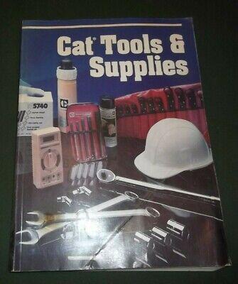 Cat Caterpillar Tools Supplies Manual Book