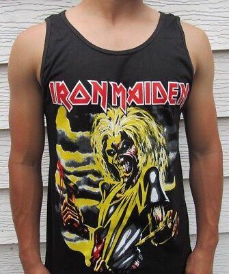 IRON MAIDEN HATCHET METAL ROCK MEN's TANK TOP SIZES