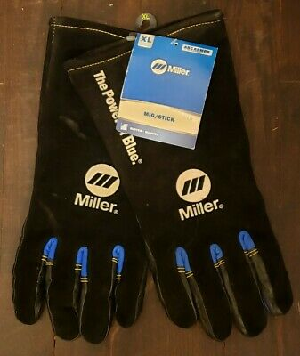 Miller 263344 Migstick Xl Welders Gloves. Arc Armor