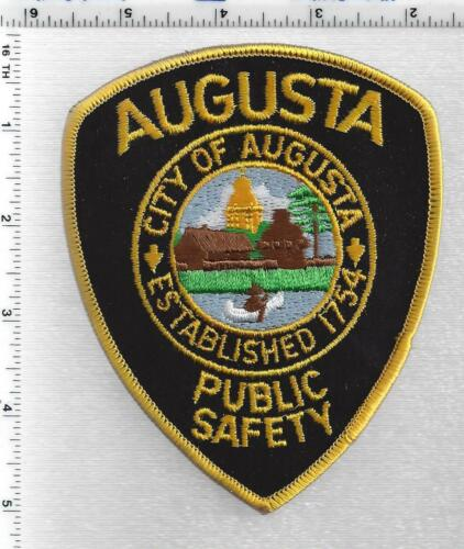 Augusta Public Safety ( Maine) 3rd Issue Shoulder Patch