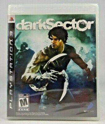 Dark Sector (Sony PlayStation 3, 2008) New ! comprar usado  Enviando para Brazil