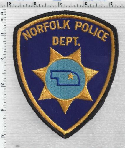 Norfolk Police (Nebraska) 1st Issue Shoulder Patch