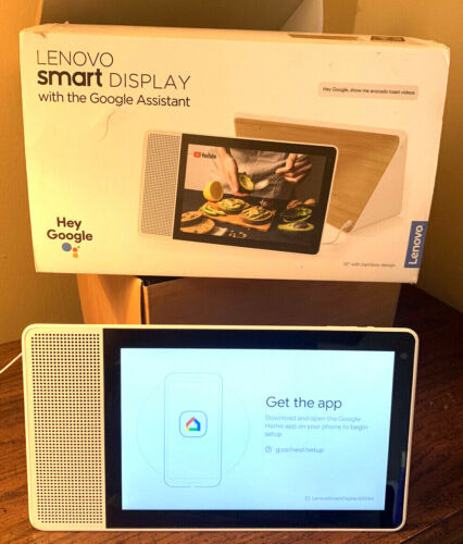 "Lenovo 10"" Smart Display - Smart Assistant with Google Home Connection"