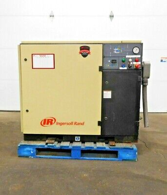 Mo-3870 Ingersoll Rand Ssr Up6-30-125 Rotary Screw Air Compressor. 30 Hp.