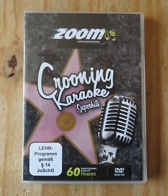 Zoom Karaoke DVD - Crooning Classic Superhits 60 Tracks  2 DVD Set