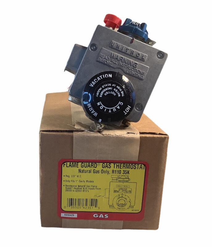 NEW Robert Shaw R110RTSPL 65-HC8-301 Water Heater Control Valve Gas Thermostat
