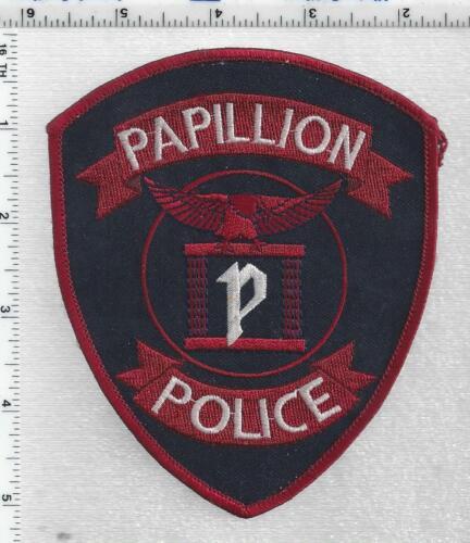 Papillion Police (Nebraska) 3rd Issue Uniform Take-Off Shoulder Patch