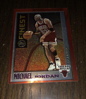 1996 Topps Finest Michael Jordan SP # M1 Bulls HOFer