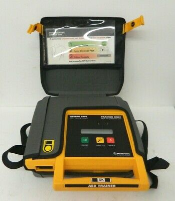 Medtronic Physio-control Lifepak 500t Aed Training System W Out Accessories