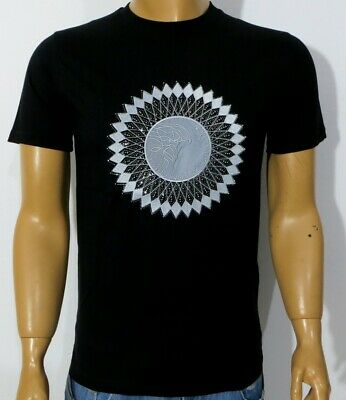 NWT MEN'S VERSACE COLLECTION SHORT SLEEVE BLACK T-SHIRT SIZE S