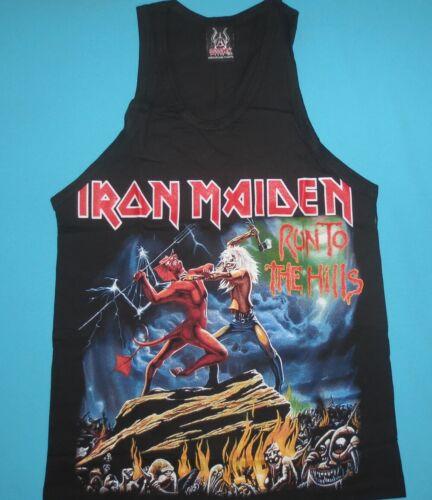 Iron Maiden - The Trooper Run Aces High Tank Top Vest Mens Sleeveless T-shirt