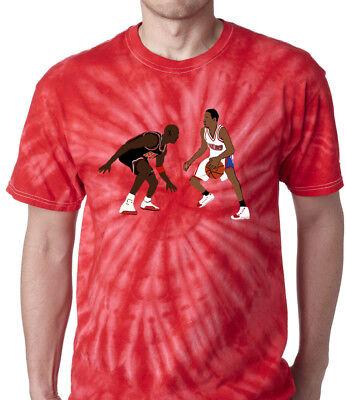 Tie Dye Allen Iverson Michael Jordan