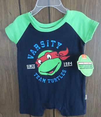 Teenage Mutant Ninja Turtles Onesy 0-3 months
