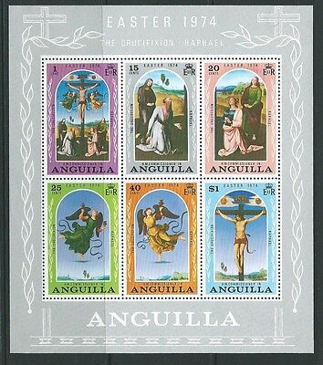 ANGUILLA SGMS180 1974 EASTER MNH