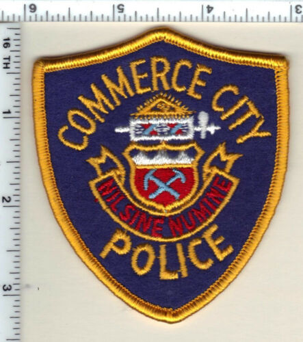 Commerce City Police (Colorado) 1st Issue Shoulder Patch