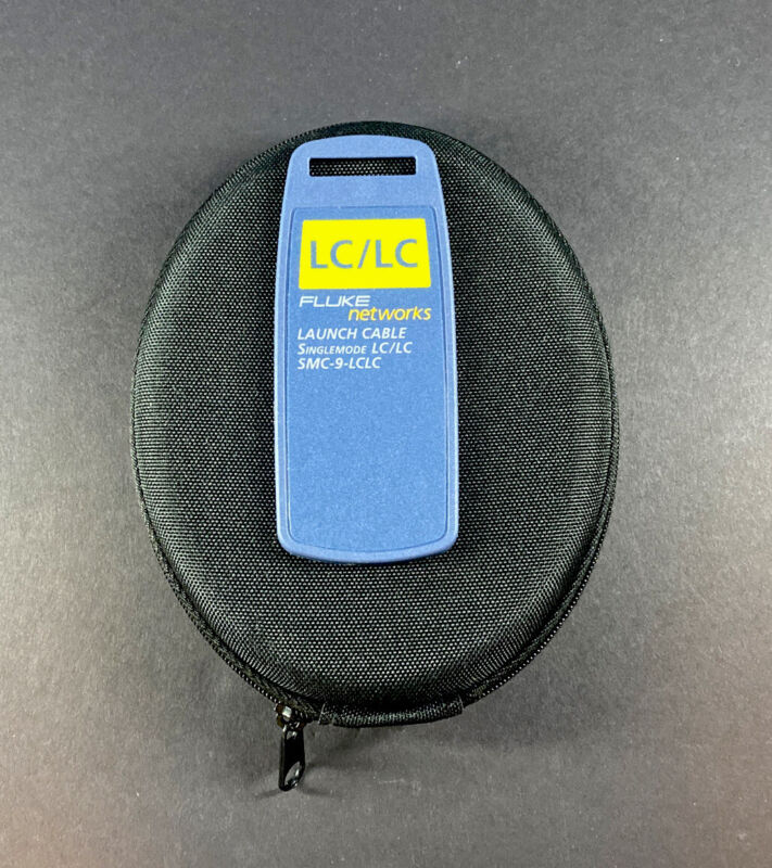 Fluke Networks SMC-9-LCLC Multimode Launch/Tail Cable,