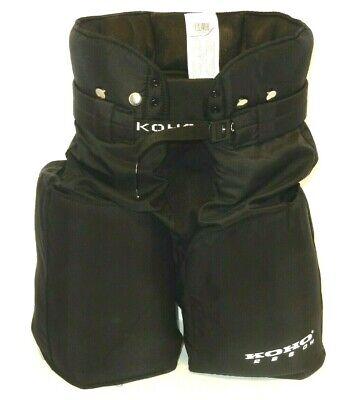 "Sz 20/"" 22/"" waist 50-55 cm BLACK KOHO 66 Mario Lemuix Childrens Hockey Pants"