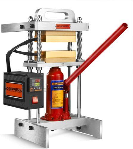 "[Refurbished] 4 Ton Heat Press Machine with Dual 3x5"" Heated Platens"
