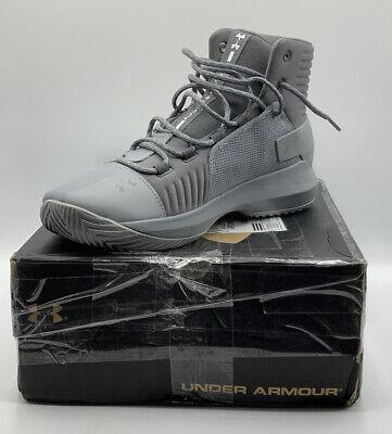 Under Armour Men's Team Drive 4 Basketball Shoe Steel (106)/Graphite Size 9