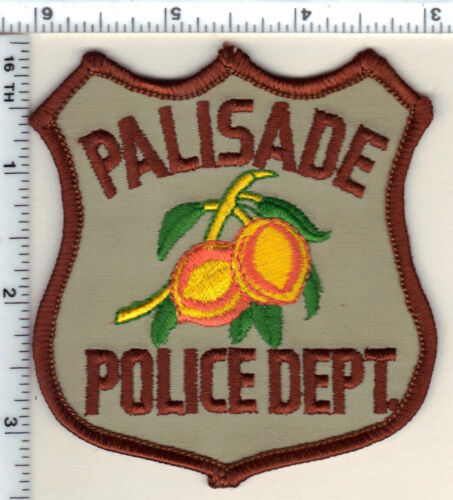 Palisade Police (Colorado) Shoulder Patch - new from 1989