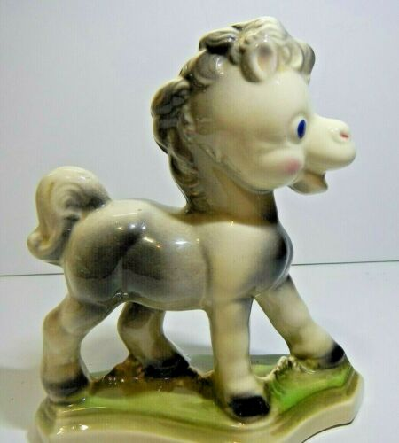 Vintage Ceramic Handmade Pony Figurine