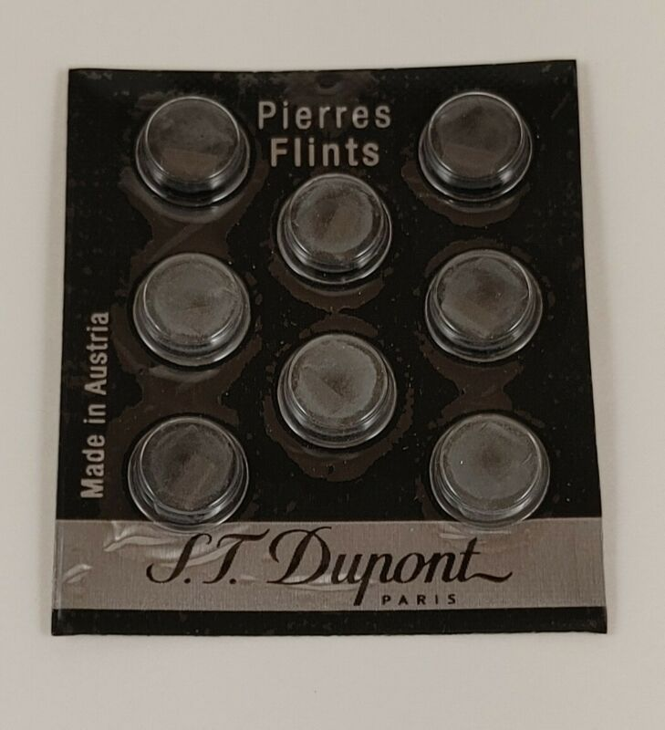 S.T. Dupont Black Lighter Flints   Standard, Ligne 1, Ligne 2, Gatsby