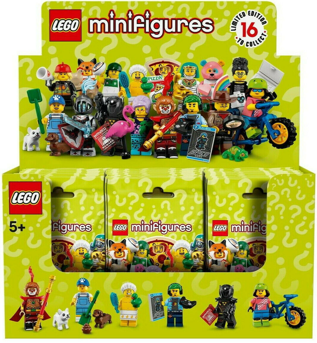 LEGO Minifigures Choose from 37
