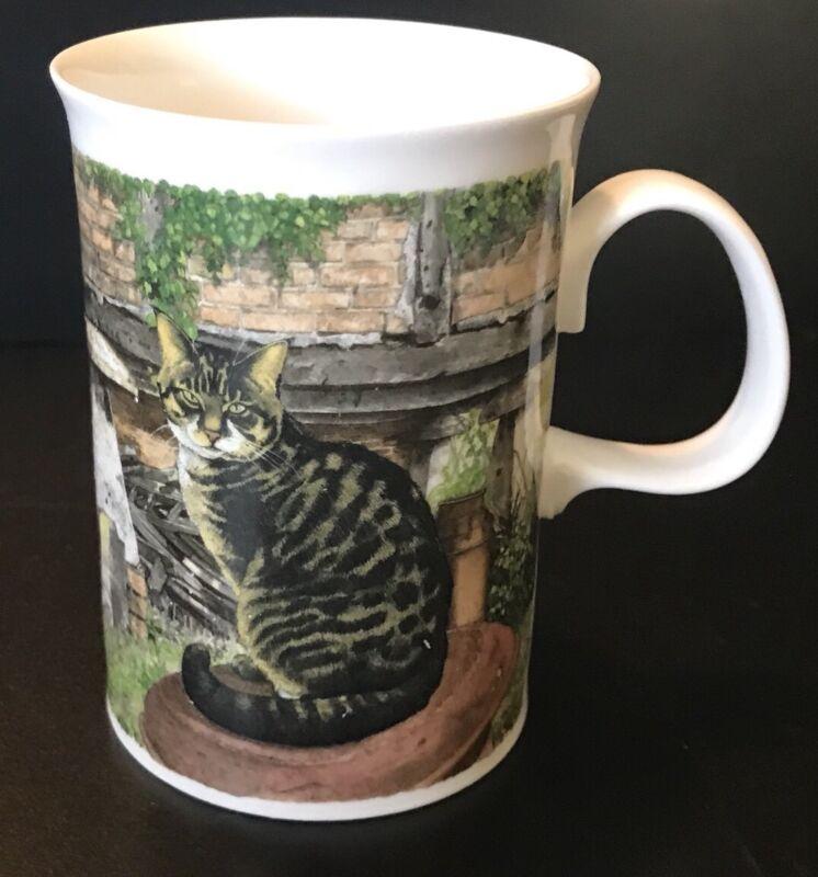 Farmyard Cats Coffee Tea Mug Designed By Richard Partis Dunoon Made In England