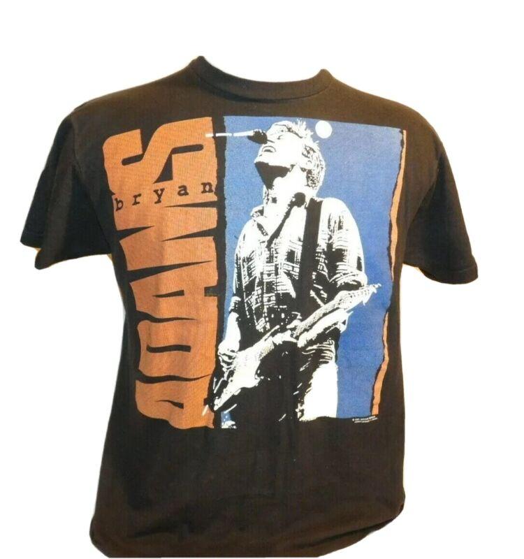 Vtg Bryan Adams 91 Tour Waking Up The World Concert T-shirt single stitch sz L