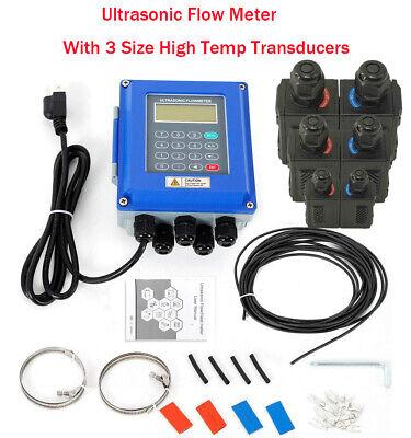 Water Flow Meter Ultrasonic Flowmeters With 3 Size High Temp Sensor Dn256000mm