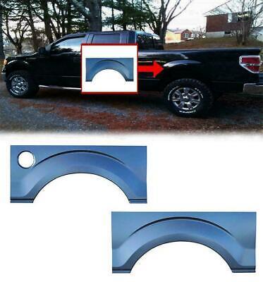 09-14 Ford F-150 RH Passenger/'s Side Rear Upper Wheel Arch w//o Molding Holes