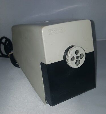 Vintage Boston Electric Variable Size Pencil Sharpener Model 41
