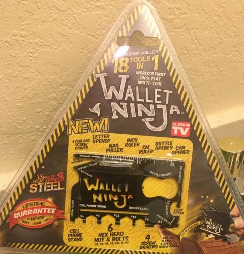 Wallet Ninja 18 in 1 Credit Card Sized Multitool Best Sellin