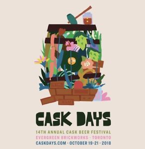 Wanted/WTB: Cask Days Session 3 - 3 Tickets