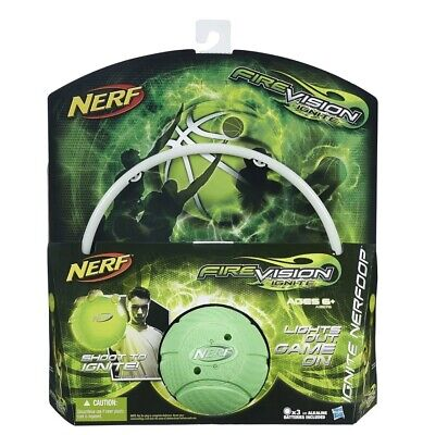 Nerf Fire Vision Ignite Nerfoop Set, New and Mint!