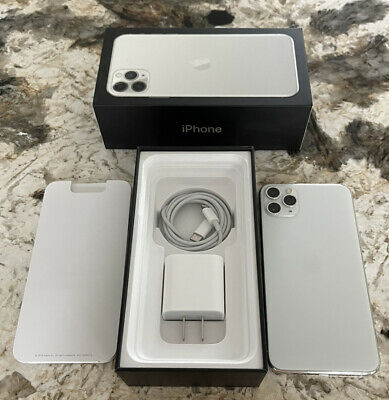 iPhone 11 Pro Max (256 GB, Silver, Unlocked) Model A2161
