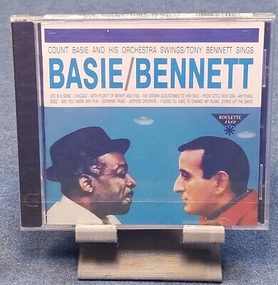 Basie Swings Bennett Sings - Basie Swings, Bennett Sings by Count Basie/Tony Bennett (CD, May-1990, Blue...