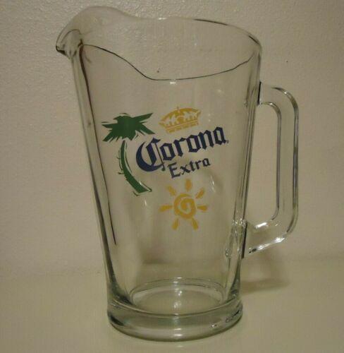Beer Pitcher, Glass Corona Extra