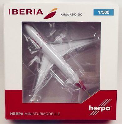 Herpa Wings 532617 Iberia Airbus A350-941 1/500 Scale Diecast Model