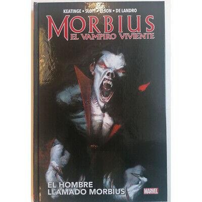 MARVEL, MORBIUS EL VAMPIRO VIVIENTE, ED. PANINI, AÑO 2021