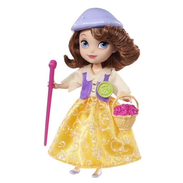 Childrens Disney Sofia The First Doll Figure Buttercup Scout Doll Badges Ages 3+