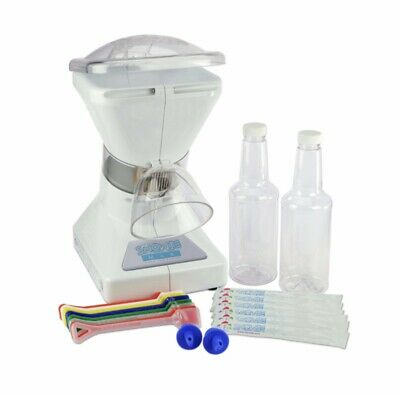 Little Snowie Max Ice Shaver Sno Cone Maker Hawaiian Ice