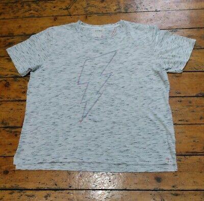 Hymn T Tee Shirt, Grey Flecked, Men's Men Extra Large, Flash, quality tee