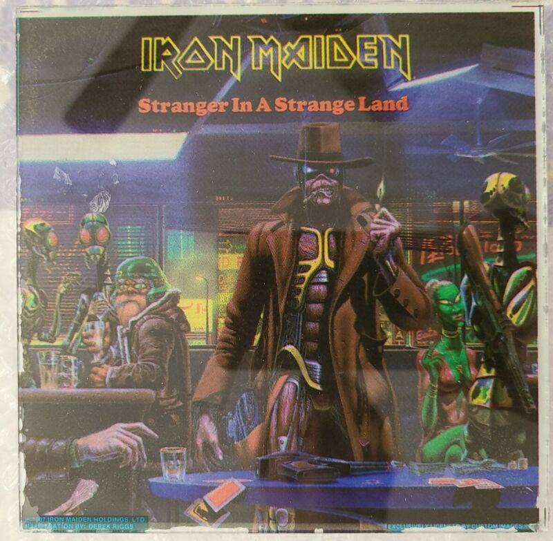 Iron Maiden RARE Stranger In A Strange Land Somewhere in Time Carnival Mirror