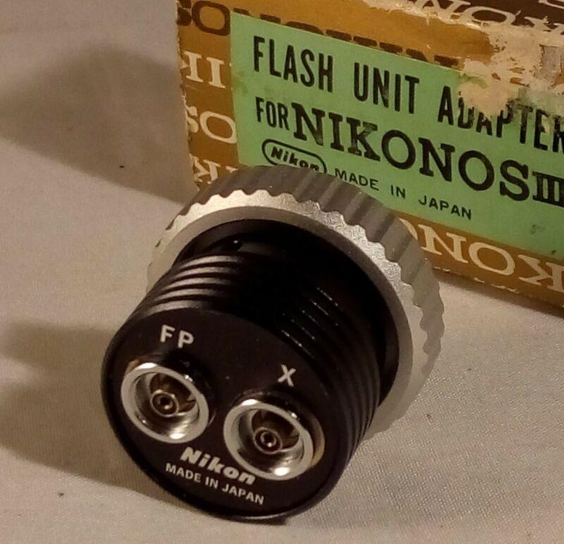 Nikonos III Flash Unit Adapter (FP-X) NOS