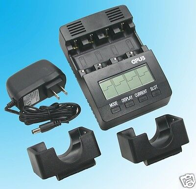 US BT-C2000 V2.2 Battery Charger Tester Analyzer NiMH NiCd AA AAA C D 12 Volt